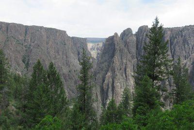 Uitzicht vanaf de Wilderness Trail