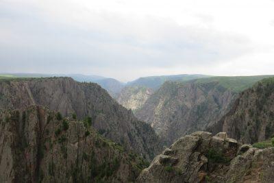 Uitkijk over de Black Canyon